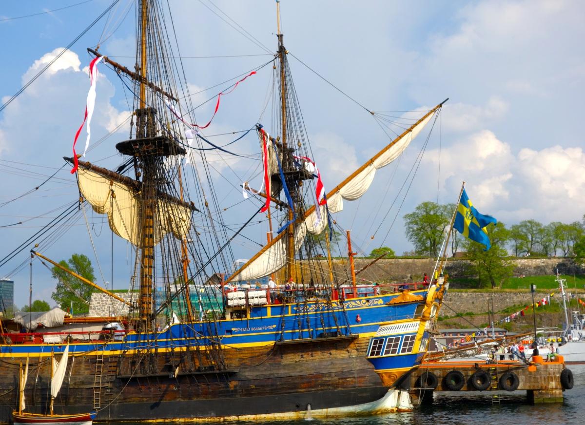 Ostindiefararen Götheborg på inspirerande turné genom Europa