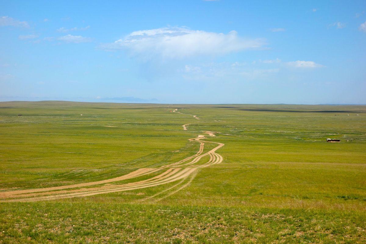 Att färdas på Mongoliets vägar, eller snarare på frånvaron av vägar, är ett äventyr i sig