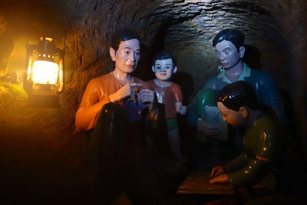 Vinh Moc, byn som bokstavligen gick under jorden
