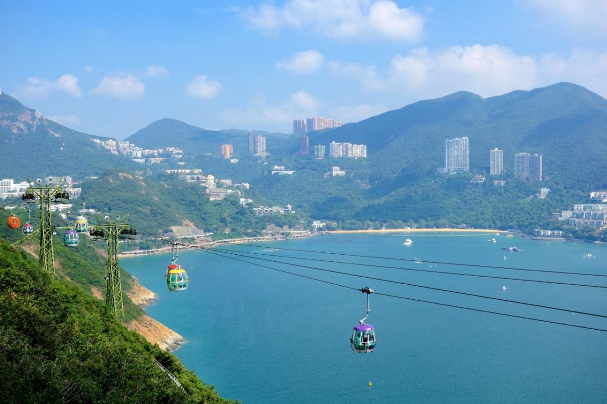 Ocean Park i Hong Kong är inte ett vattenland