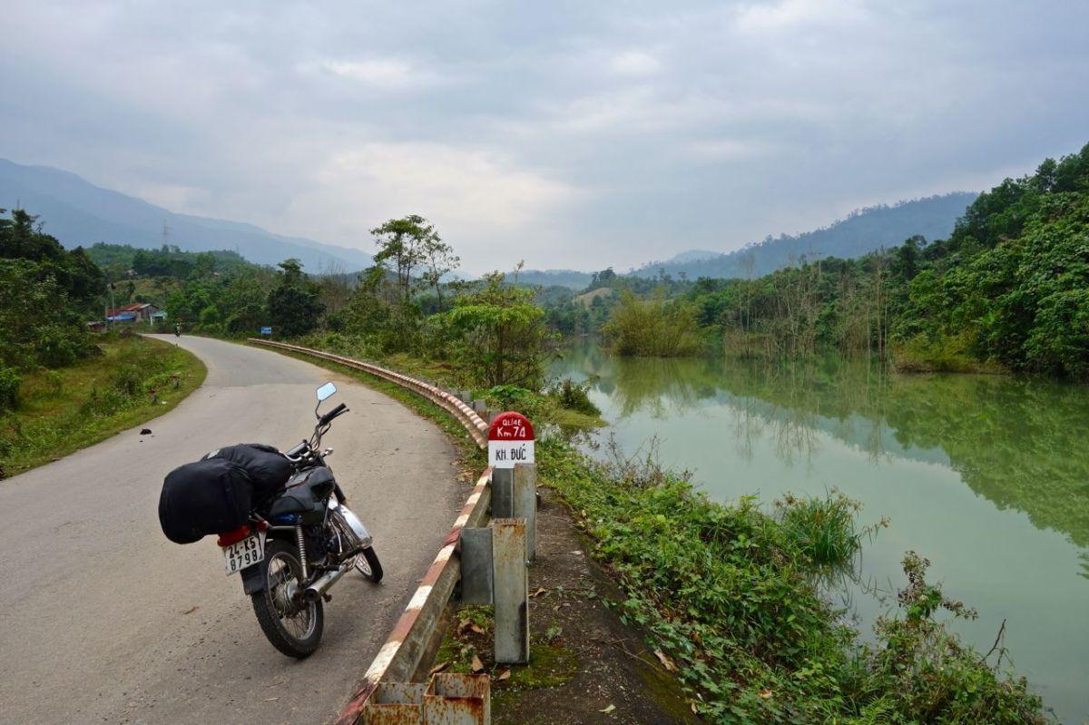 På vägen från Vietnam till Kambodja