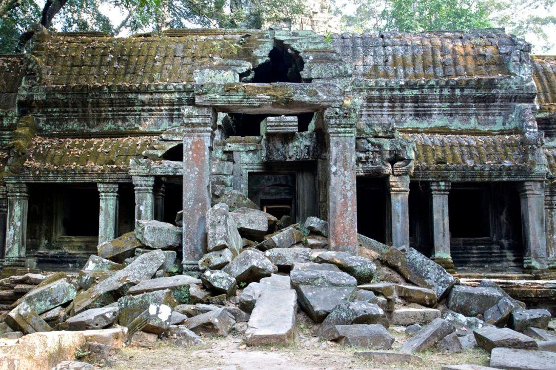 Ruiner och mossiga stenar, inget snack om saken. Ändå otroligt spännande!