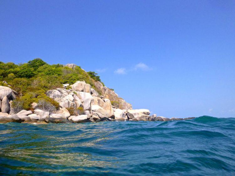 Vattnet utanför Sai Daeng