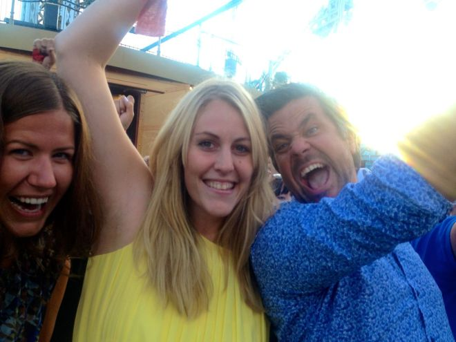 Bland de sista bilderna från Sommar-Sverige i min telefon. Ingen dålig kväll! Ingen dålig bästis!