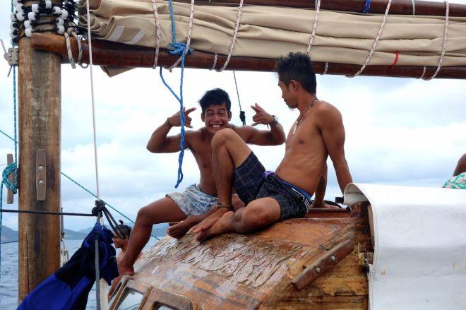 Besättningen var en av de bästa delarna med expeditionen. Även om de såklart servade oss en del var de också skämtglada och lekfulla. Vi kände oss mer som gäster än som betalande turisticos.