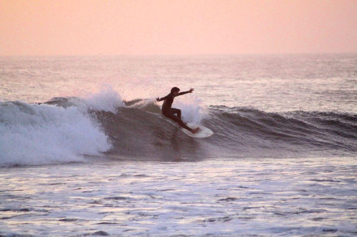 Drömmen om att lära sig surfa