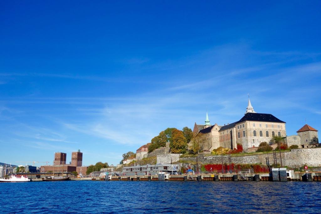 Akershus fästning och rådhuset är finast från vattnet!