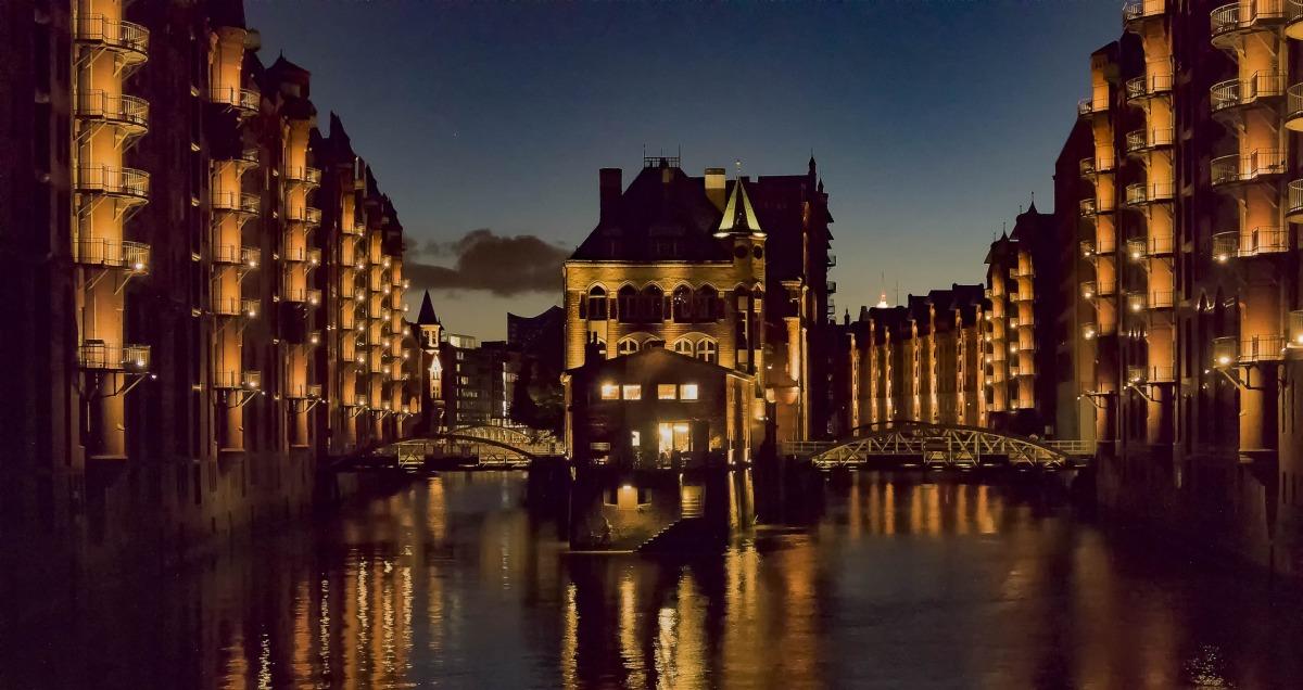 En perfekt promenad i Hamburg